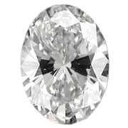 0.49 ct Oval Diamond : J / IF