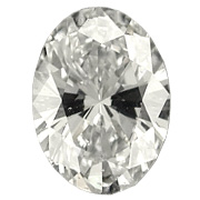 1.51 ct Oval Diamond : M / SI1