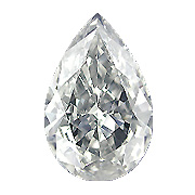 1.61 ct Pear Shape Diamond : I / I1