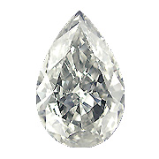 2.05 ct Pear Shape Diamond : K / SI2