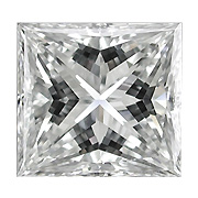 0.31 ct Princess Cut Diamond : D / VVS2