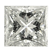 1.50 ct Princess Cut Diamond : K / SI1