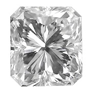 0.70 ct Radiant Diamond : G / VVS1