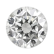 2.01 ct Round Diamond : H / VVS2