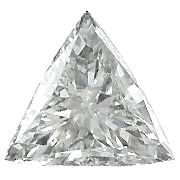2.08 ct Trillion Diamond : F / SI1