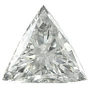 1.58 ct Trillion Diamond : I / SI2