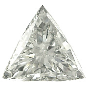 0.60 ct Trillion Diamond : K / VS2