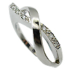 14K White Gold 0.05cttw Diamond Ring