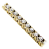 18K Yellow Gold 1.00cttw Diamond Bracelet