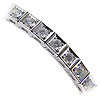 14K White Gold 3.60cttw Diamond Bracelet