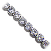 18K White Gold 6.00cttw Diamond Bracelet