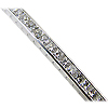 18K White Gold 17.00cttw Diamond Bracelet