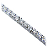 18K White Gold 4.25cttw Diamond Bracelet