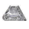 0.10 ct E / SI1 Trapezoid Diamond