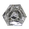 0.18 ct G / SI1 Hexagon Diamond