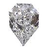 0.35 ct D / SI1 Shield Shape Diamond