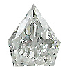 0.18 ct E / SI1 Arrow Head Diamond