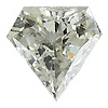 0.22 ct I / SI1 Diamond Shape Diamond